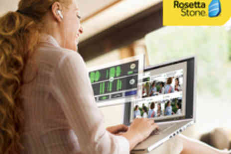 Rosetta Stone - 12 Month Rosetta Stone Online Course - Save 59%