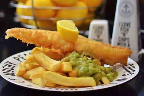 Fish A Licious - Traditional Fish and Chips For Two or Gluten Free Option - Save 50%