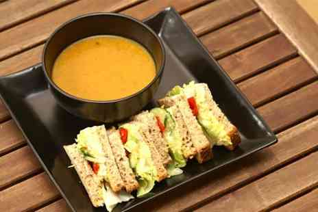 Hole in the Wall Cafe - Homemade Soup and Sandwich - Save 50%