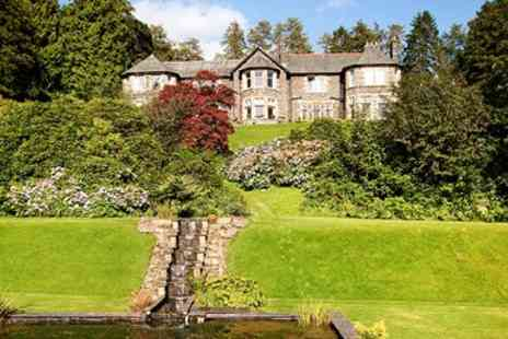 Merewood Country House Hotel - Lake District Escape with Meals & Mulled Wine - Save 47%