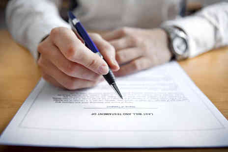 Everyday Wills - Professional single will writing service - Save 81%