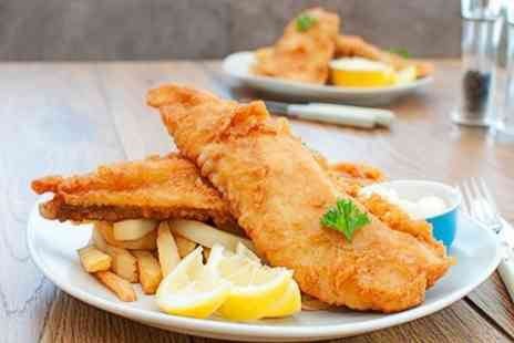 The Esplanade - Beer Battered Cod and Chips For Two - Save 50%