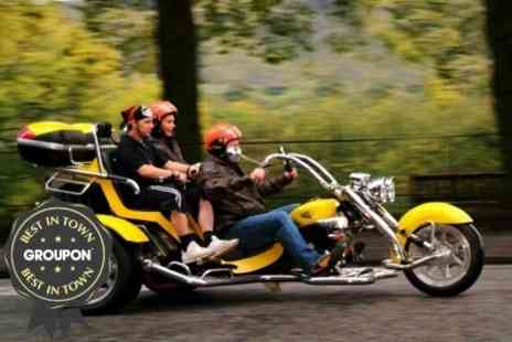 Trike Tours Scotland - Trike Tour and Photoshoot For Two - Save 61%