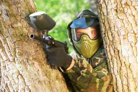 Unreal Paintball - Full Day Play With Lunch For Two - Save 85%