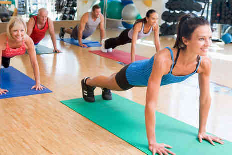 Peak Physique - Choice of Ten Anytime Gym Passes or Mix and Match Class Classes - Save 77%