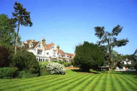 Rowhill Grange Hotel - In Kent One Night For Two With Breakfast, Dinner Credit and Spa Access - Save 53%