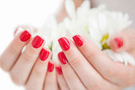The Attic Hair & Beauty - Manicure with Gel Finish - Save 63%