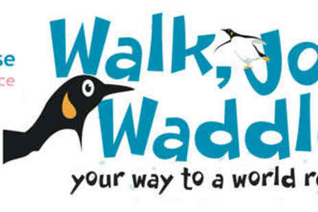 Richard House Childrens Hospice - Penguin Dash Guinness World Record Attempt with Penguin Suit Included - Save 50%