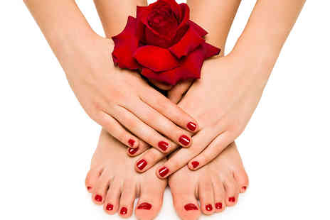 Kensington Skin Care - 90 Minute Signature Manicure and Pedicure - Save 64%