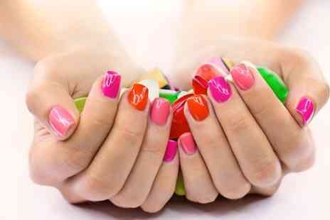 Diva Beauty - CND Shellac Nails or Lash Extensions - Save 52%