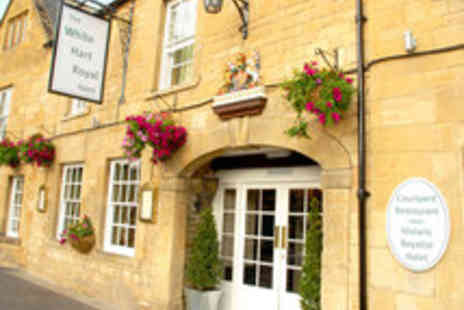 The White Hart Royal Hotel - Two Night Classic Cotswolds Break for Two with Champagne on Arrival - Save 62%