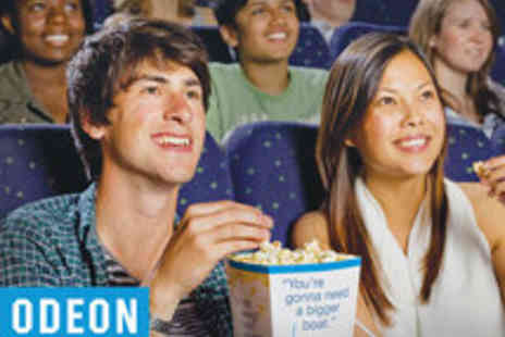ODEON Cinemas - Nationwide Admission to ODEON Cinemas - Save 40%