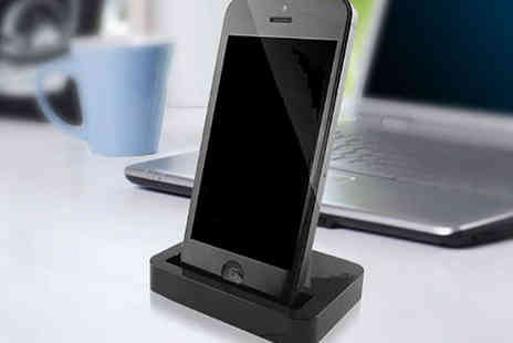 Shopper Gold - iPhone Dock for iPhone 4 4s and 5 5s - Save 72%