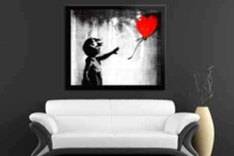 Red Art - Choice of a Selection of Framed Canvas Decorative Art Prints - Save 61%