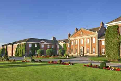 De Vere Mottram Hall - Alderley Edge Magnificent Spa Day including Two Treatments - Save 35%