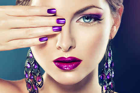 Glamour Hair & Beauty - Shellac manicure - Save 60%