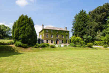 Hammet House - Pembrokeshire Country House Break with Champagne Afternoon Tea - Save 49%