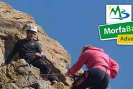 Morfa Bay Adventure - Half Day of Outdoor Activities For Two Including Archery, Mountain Biking & Climbing - Save 61%