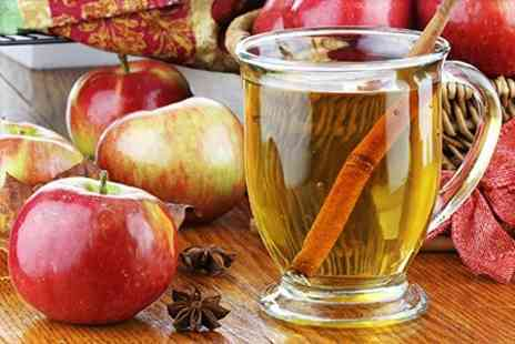 Severn Cider - Cider Making Experience Plus Hot Spiced Cider and Mince Pie - Save 50%