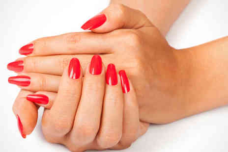 Nail Xpression - OPI Manicure or Pedicure - Save 53%