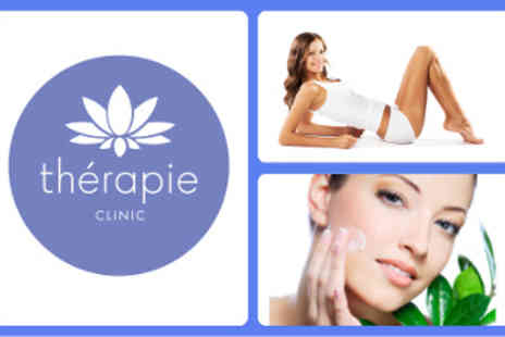 Therapie Clinic Express - Shrinking Violet Body Wrap & Kéraskin Esthetics Immersion Ritual Luxurious Facial - Save 52%