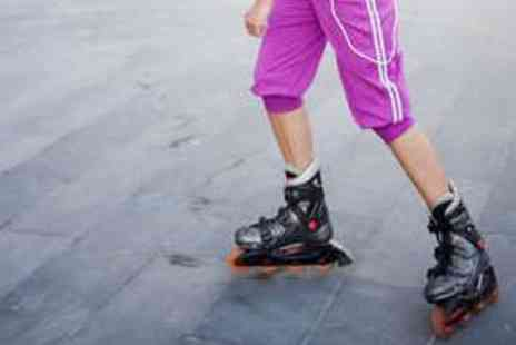 Simply Skate - Adult Inline Skating Session with Meal and Drink - Save 55%