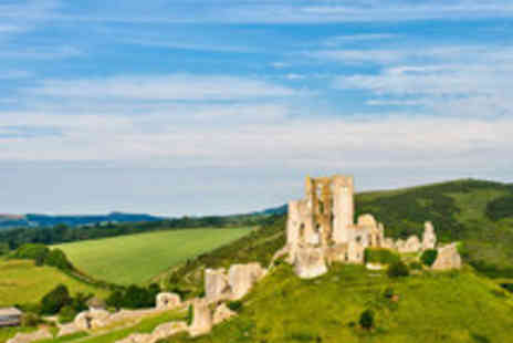 Mortons House Hotel - Historic Corfe Castle Manor House Getaway for Two - Save 44%