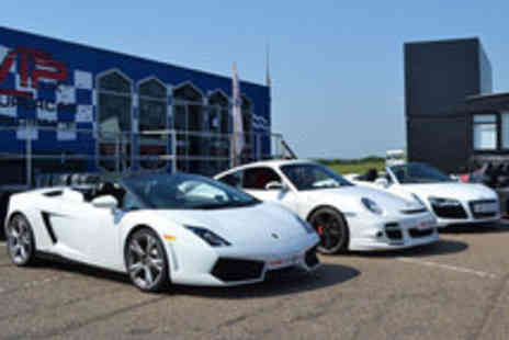 VIP UK Experience Days - Three Supercars A Total of 9 Laps - Save 72%