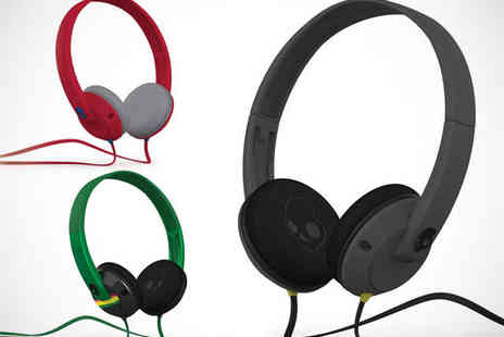 Spirit - Skullcandy Uprock Premium Wired Headphones in Choice of Three Colours - Save 63%