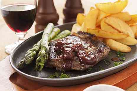 39 Prime - Sirloin Steak Meal For Two With Cocktails and Wine - Save 61%