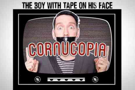 Curated by Groupon Events - The Boy With Tape on His Face show in Theatre - Save 25%