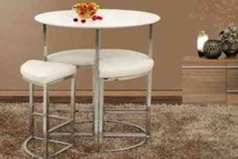Garden Game - Original Orbit 4 Stool Table Set  Perfect For Small Spaces - Save 72%