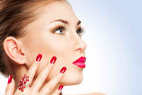 MM Bubbles - Bio Gel Manicure Pedicure or Both - Save 53%