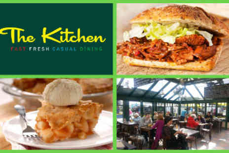 The Kitchen - Lunch for 2 Ciabattas with Sides plus Desserts & Hot Drinks - Save 52%