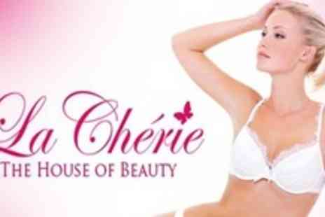 La Cherie - Six Sessions of IPL Hair Removal on Choice of Three Small or Full Leg - Save 91%