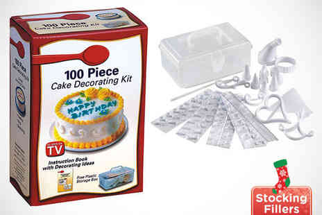 Roolyn - 100 Piece Cake Decorating Set - Save 73%