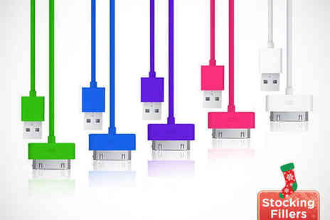 Shopper Gold - Three Metre USB Cable For iPhone 5 - Save 92%