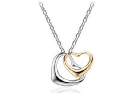 Finishing Touch - Floating Hearts Necklace - Save 78%