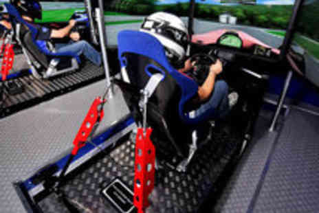 Bodyflight - Racing Driver Simulation Experience - Save 28%