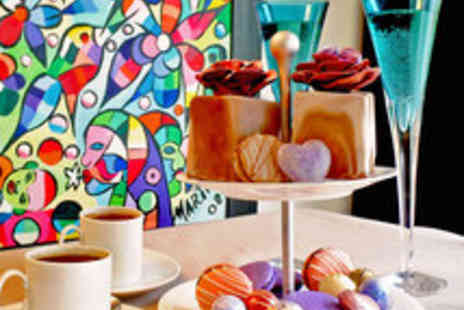David Leslie - Chocoholics Afternoon Tea with Cocktail for two - Save 51%