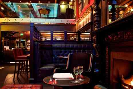 RBG Bar - Two Course Dinner with Bubbly - Save 44%