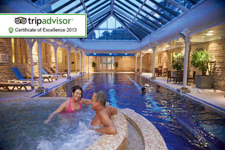 The Spa at Thoresby Hall - Spa day for 2 people including a two course spa lunch and access to all facilities - Save 69%