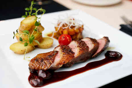 Gastron home - Two course French meal for 2 including live music - Save 58%