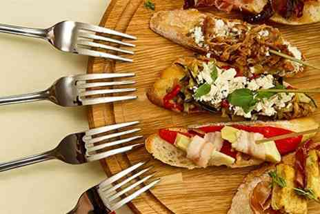 Cafe Bee - Tapas and Wine For Two - Save 50%