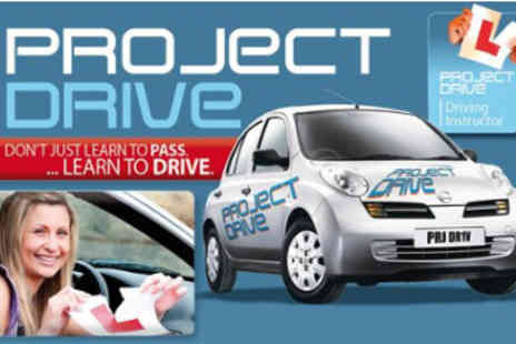 Project Drive - 4 x 1 Hour Driving Lessons - Save 81%