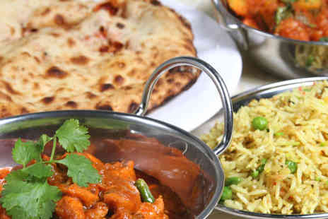 Balti King - A delicious four course meal for two - Save 60