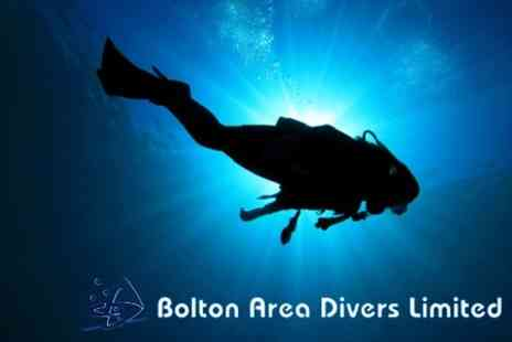 Bolton Area Divers - PADI Open Water Referral Course for £79 (£220 Value) - Save 64%
