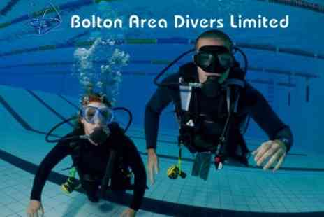 Bolton Area Divers - PADI Introduction to Scuba Diving for £10 - Save 60%