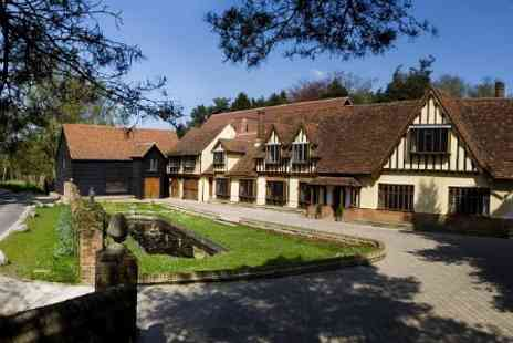 Great Hallingbury Manor - Hertfordshire 1 or 2 Nights For Two With Breakfast - Save 42%