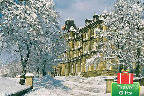 The Palace Hotel - Winter Comforts in Buxton's Roman Spa Town - Save 56%